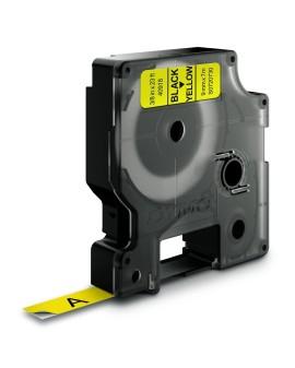Taśma D1 - 9 mm x 7 m, czarny / żółty - 5411313409186 -  S0720730 - 1