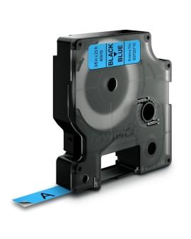 Taśma D1 - 9 mm x 7 m, czarny / niebieski - 5411313409162 -  S0720710 - 1