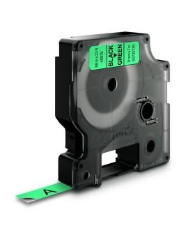 Taśma D1 - 9 mm x 7 m, czarny / zielony - 5411313409193 -  S0720740 - 1