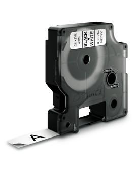 Taśma D1 - 12 mm x 7 m, czarny / biały - 5411313450133 -  S0720530 - 1
