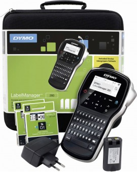 Drukarka Etykiet Dymo LabelManager 420P Walizka + 4 Taśmy - 3501170915486 -  S0915480 - 1
