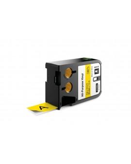 DYMO XTL taśma winylowa trwała (24 mm), Czarna na żółtym 7m długości - 71701001528 -  1868773 - 1