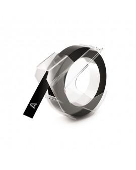 Taśma 3D 1rolka *3m 9mm  czarna - 3501170898130 -  S0898130 - 1