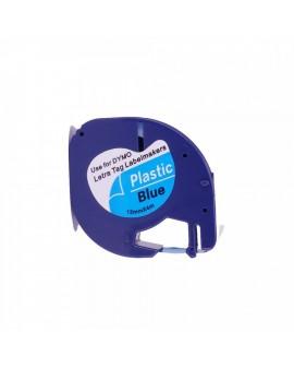 DYMO taśma 12mm / 4m - plastikowa, niebieska - 5411313912051 -  S0721650 - 1