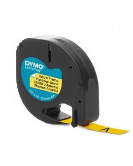 taśma DYMO 12mm/4m - plastikowa, żółta - 5411313912020 -  S0721620 - 1
