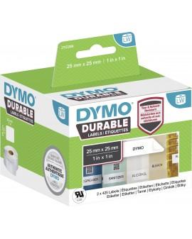 Durable etykieta wielofunkcyjna kwadratowa - 25mm x 25mm - 71701002464 -  2112286 - 1