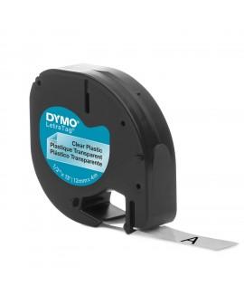 DYMO taśma 12mm/4m - plastikowa, przezroczysta